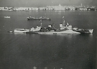 A picture of the HMS Birmingham