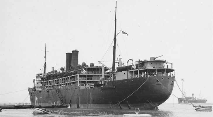 An image of the s.s.tilawa steam ship