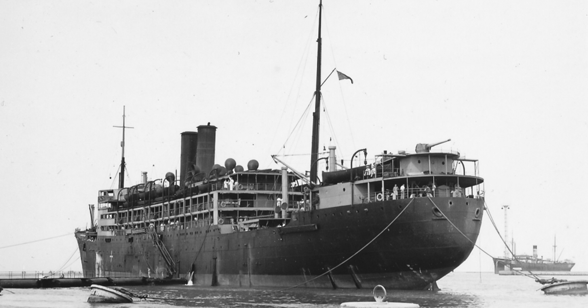A picture of the S.S.Tilawa