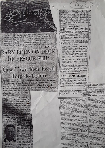 A newspaper article on the story of Abdul Razak Halim